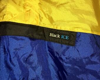 Vintage Black Ice Wind-breaker