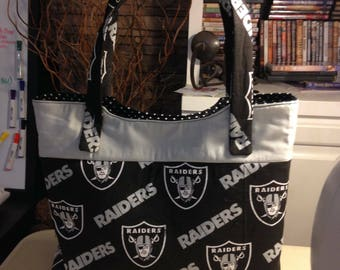 Raiders Purse and Wallet