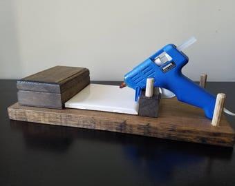 Hot Glue Gun Holder with Box
