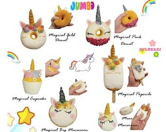Unicorn Food Squishies