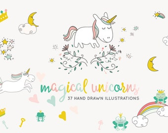 Fairytale Unicorn Clip-art