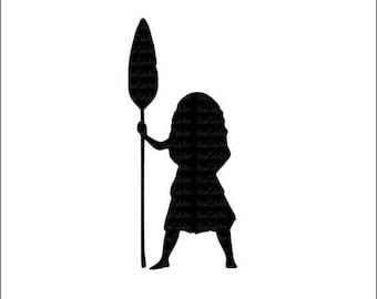 Moana Svg Moana Cut files Cricut files Silhouette files Disney Princess svg