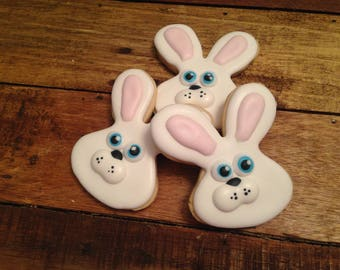 Bunny head cookies