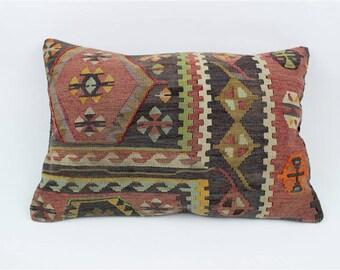 Turkish Kilim Pillow, Home Decor, Decorative Pillow, Home Design, Kilim Cushion, Pillows, Home Living, Decorative Pillow