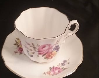 Royal Grafton Tea Cup and Saucer Gift for Mother's Day, Birthday and House Warming