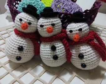 toys, snowman, gift, newyear, handmade toys