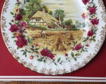 Royal Albert Four Seasons 'Autumn' collectors plate