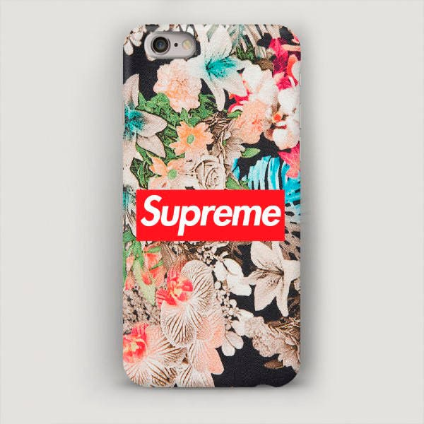 supreme iphone 7 case floral iphone 6 plus case iphone 5. Black Bedroom Furniture Sets. Home Design Ideas