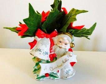 Santa Claus Planter Etsy