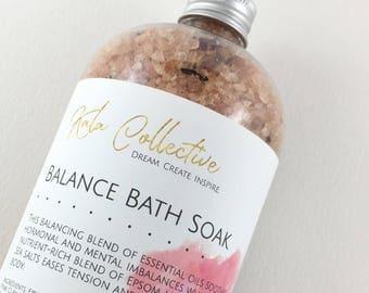Essential Oil Bath Soak