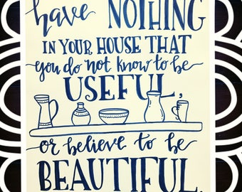 House Quote--- Handmade