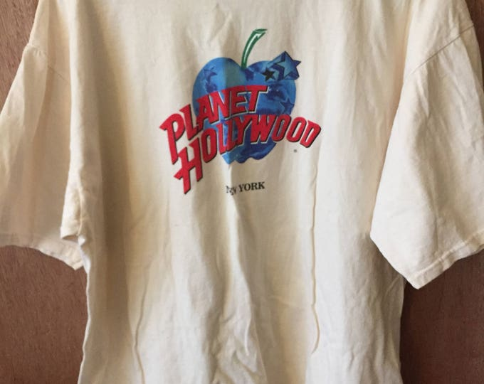 Vintage Planet Hollywood New York Tee