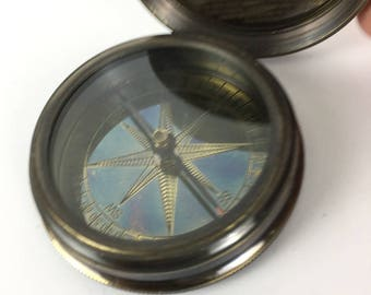 Titanic brass reproduction compass