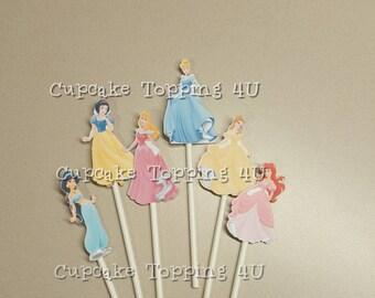 Princess cupcake Topping