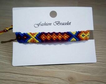 Customable Chevron Bracelet Colorful Friendship Bracelets Gift