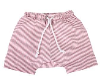 Puuper swim diaper bad diaper Lambert red white striped