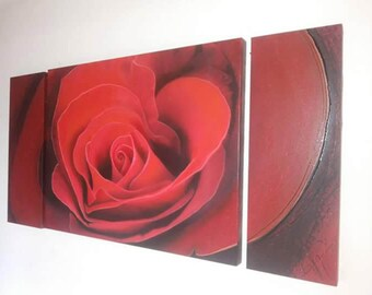 Red rose by ART