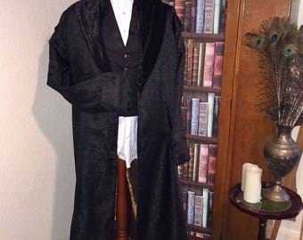 Victorian gentlemans dressing gown