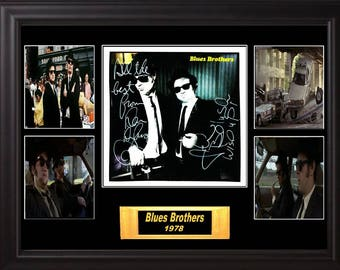 Blues Brothers Band Signed Briefcase Full Of Blues Album
