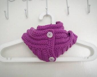 Autumn Crochet Scarf