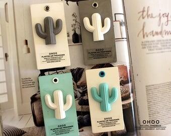 Cactus Ornament | plaster air freshener | air Freshener scent | car air freshener  |car interior | car accessory | car fragrance | car scent