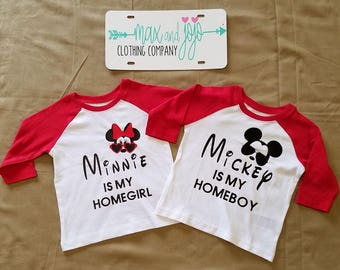 Mini/ Mickey Homegirl Homeboy
