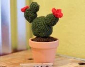 Crochet Prickly Pear Cactus