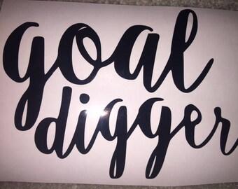Goal Digger Decal