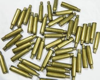 Lot of (46) 6.5 x 55 Empty Brass Bullet Casings / Shells for Crafts, Art, Reloading