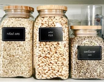168 water-resistant pantry labels