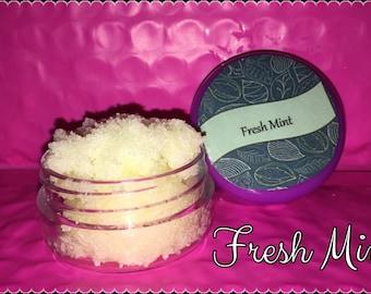 Fresh Mint Lush Lip Scrub