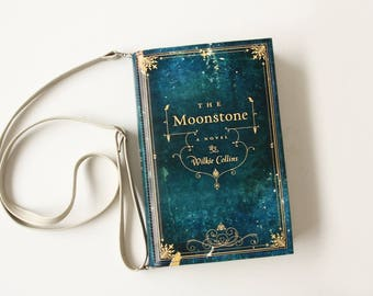The Moonstone Book Bag Wilkie Collins Book Purse