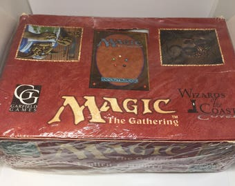 Magic The Gathering Fallen Empires Booster Pack Box (Unopened)