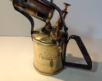 Vintage brass Primus blow torch