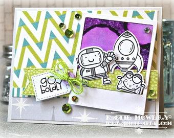 Go Boldly ... Handmade Card