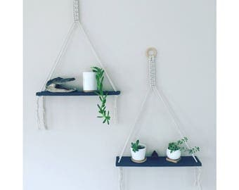 Macrame Shelves (set of 2)