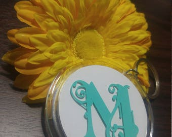 Personalized Key Chain Monogrammed
