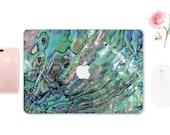 Abalone Shell Macbook Skin Macbook Air Sticker Macbook Air Shell Macbook Light Skin Macbook 15 2016 Decal Green Macbook Air Skin ESD029