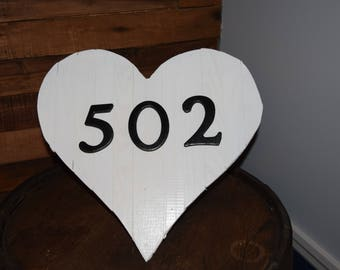 Heart Decoration Wall Hanging or Door Hanger