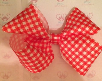 Extra large boutique style ribbon bow