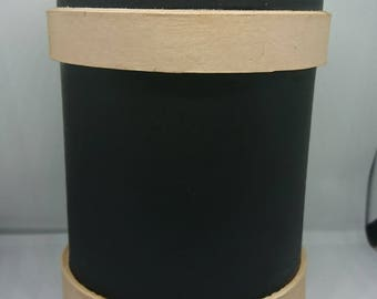 Hand made Leather Beaker