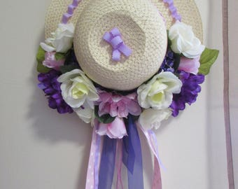 Purple Spring Hat by CatChat