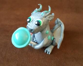 Lollipop Polymer Clay Dragon