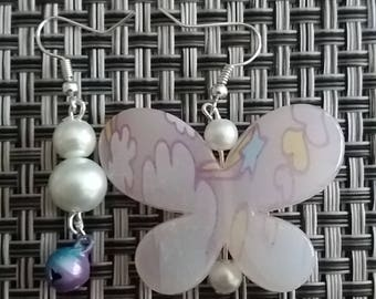 Earrings Butterfly matches