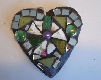 Small mosaic heart