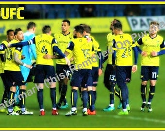 Oxford United Team Print