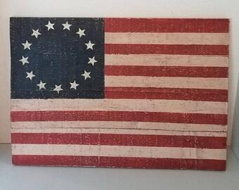 American flag, Americano, 13 star flag
