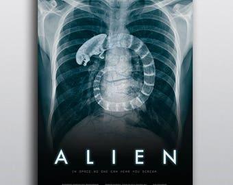 Alien (1979) Movie Poster Redesign