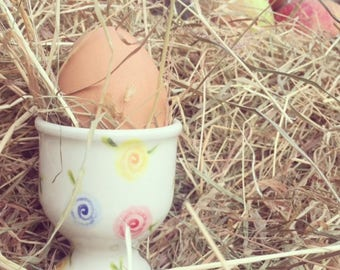 Country Cottage Rose - Egg Cup