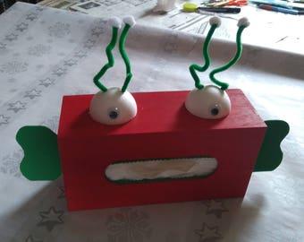 box has tissue